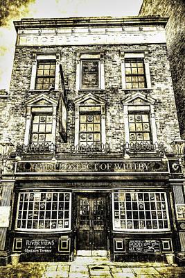The Prospect Of Whitby Pub London Vintage Art Print by David Pyatt