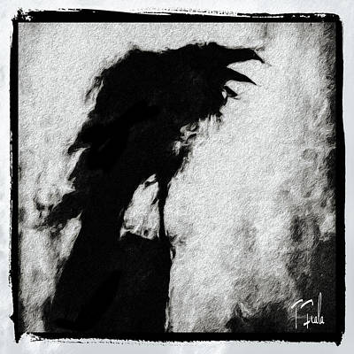 Digital Art - The Ravens Of Taos County by Terry Fiala