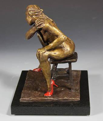 The Red Heels Art Print by Dan Earle