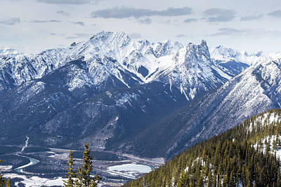 Photograph - The Rockies Landscape by Josef Pittner