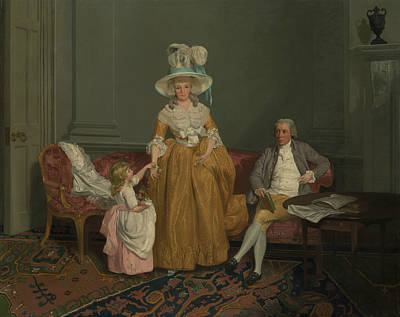 Painting - The Saithwaite Family by Francis Wheatley