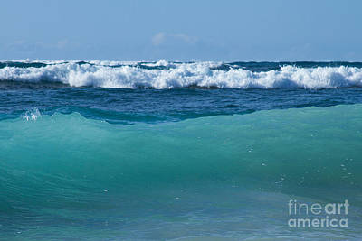 Photograph - The Blue Sea by Sharon Mau