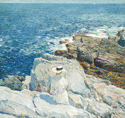 Painting - The South Ledges, Appledore by Childe Hassam