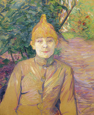 Painting - The Streetwalker by Henri de Toulouse-Lautrec