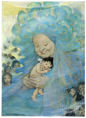 The Water Babies Art Print by Granger