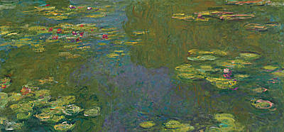 Lily Pond Painting - The Waterlily Pond by Claude Monet