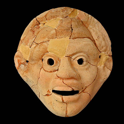 Theatrical Masks. Graecoroman Period. Original