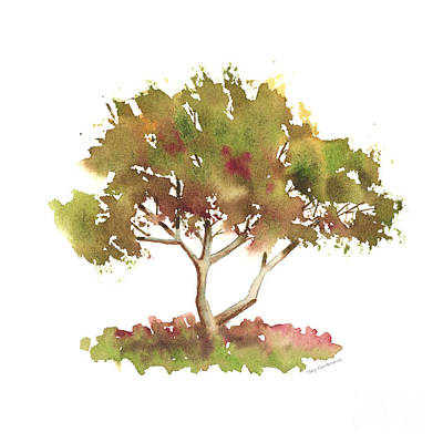 Painting - #4 Tree by Amy Kirkpatrick