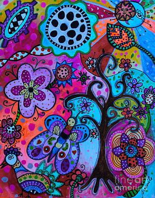 Painting - Tree Of Hope by Pristine Cartera Turkus