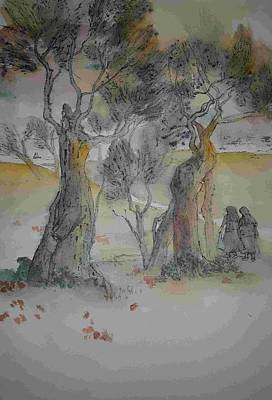 Painting - Trees Trees Trees Album by Debbi Saccomanno Chan