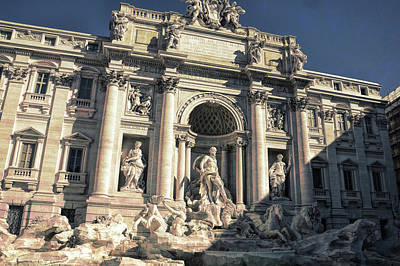 Photograph - Trevi Fountain by JAMART Photography