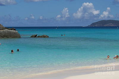 Art Print featuring the photograph Trunk Bay by Carol  Bradley
