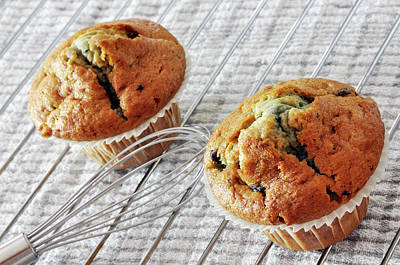 Two Blueberry Muffins Art Print by Dutourdumonde Photography