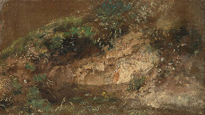 John Constable Painting - Undergrowth by John Constable