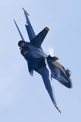 Hornet Photograph - Us Navy Blue Angels Poster by Dustin K Ryan