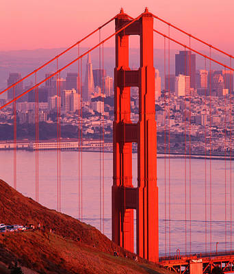 Usa, California, San Francisco, Golden Art Print by Panoramic Images