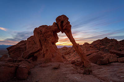 Sunrise Photograph - Valley Of Fire S.p. by Jon Manjeot