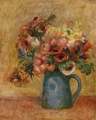 Painting - Vase Of Flowers by Pierre-Auguste Renoir