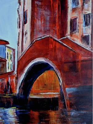 Painting - Venice Canal by Miki Sion