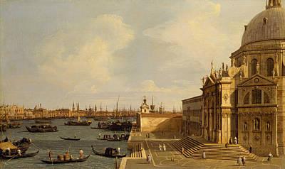 Painting - Venice - Santa Maria Della Salute by Canaletto