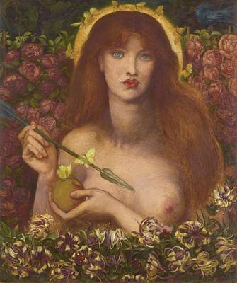 Painting - Venus Verticordia  by Dante Gabriel Rossetti