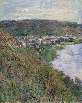 View Of Vetheuil Art Print