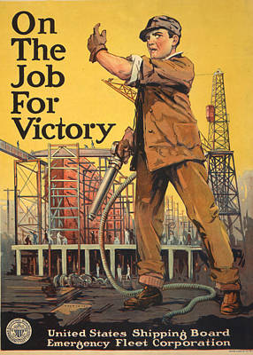 Vintage Wwi Poster Art Print
