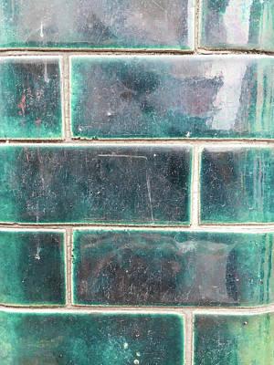Mosaic Photograph - Wall Tiles by Tom Gowanlock