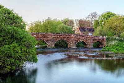 Fruehling Photograph - White Mill - England by Joana Kruse