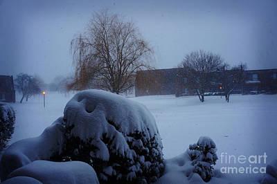 Bierstadt Photograph - Winter Landscape  by Celestial Images