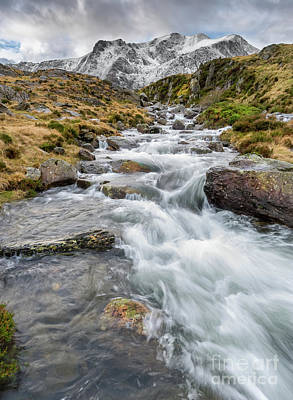 Photograph - Winter Stream by Adrian Evans