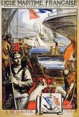 Photograph - World War I: French Poster by Granger