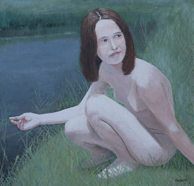 Painting - Young Naturist by Masami Iida