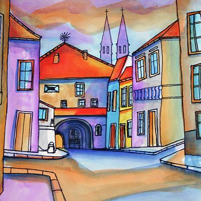 Painting - Z by Saso  Petrosevski Novak - SPN