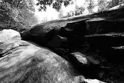 Photograph - 40 Acre Rock 14 B W 1 by Joseph C Hinson Photography