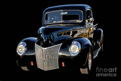 Photograph - 40 Ford Pickup by Tom Griffithe