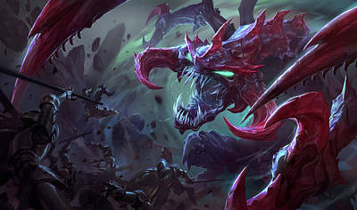 Color Digital Art - League Of Legends by Super Lovely