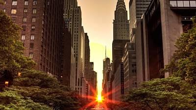 Building Digital Art - Sunset by Super Lovely