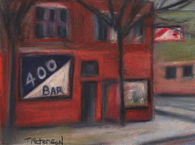400 Bar Minneapolis Art Print