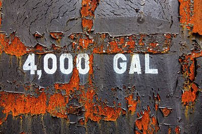Photograph - 4000 Gallons by Robert Ullmann