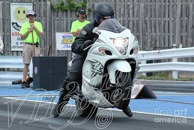 Wall Art - Photograph - 4015 05-29-16 Esta Safety Park Drag Racing by Vicki Hopper