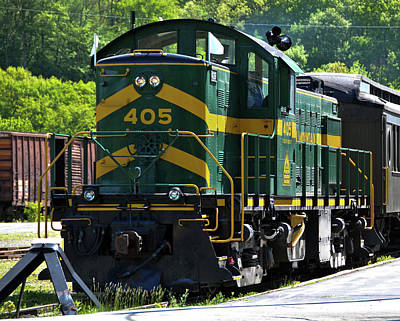 Photograph - 405 At Bellows Falls by Mike Martin