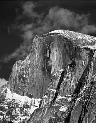 Photograph - 406779 V Half Dome In Winter Dress by Ed Cooper Photography