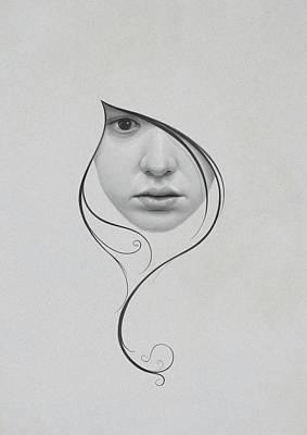 Lips Digital Art - 409 by Diego Fernandez