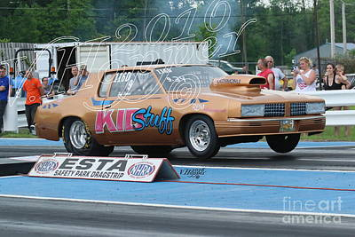 Wall Art - Photograph - 4099 05-29-16 Esta Safety Park Drag Racing by Vicki Hopper
