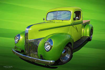Photograph - 40s Ford Pickup by Keith Hawley