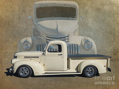 Detroit Industry Photograph - 41 Chev by Jim Hatch