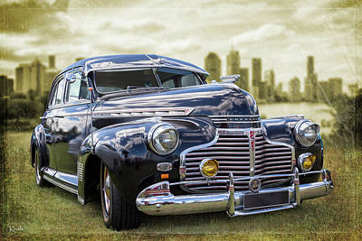 Photograph - 41 Chevy by Keith Hawley
