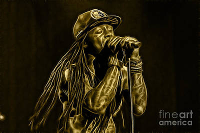 Mixed Media - Lil Wayne Collection by Marvin Blaine