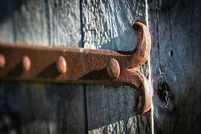 Photograph - Iron Hinge by Vintage Pix
